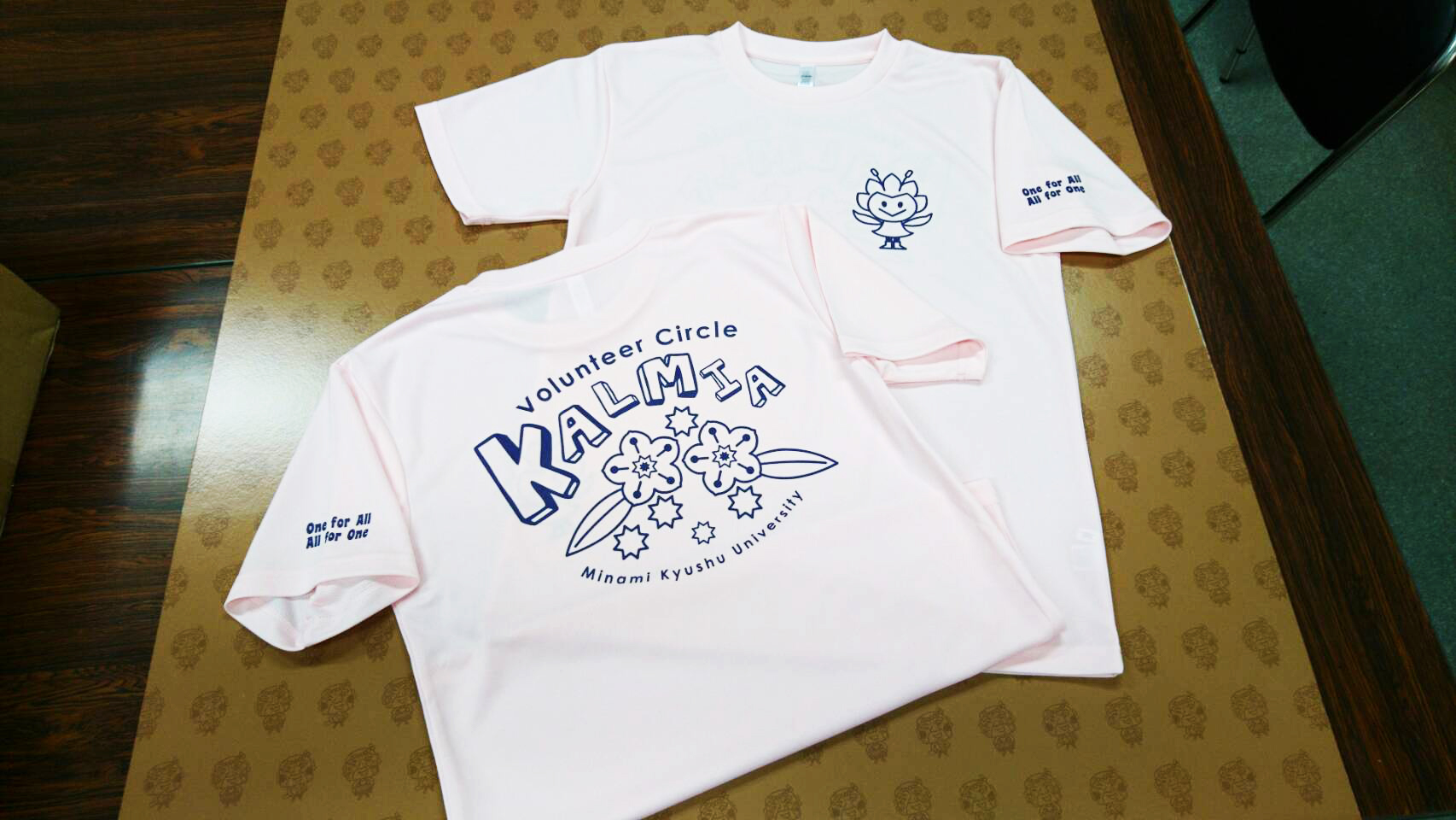 オリジナルTシャツ_南九州大学ボランティアサークル(MVC)カルミア様